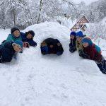 Schneee, Spass und ein Iglu für die SaW